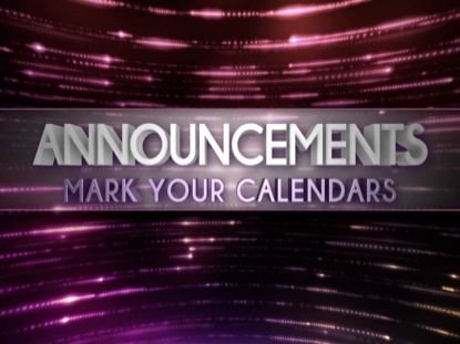 GLIMMER LINES ANNOUNCEMENTS