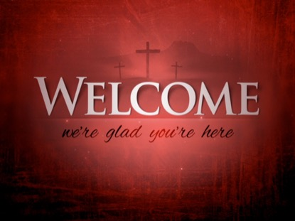 GOOD FRIDAY V2 WELCOME RED