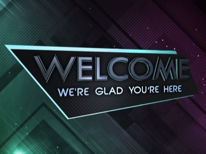 LIGHT PRISM WELCOME ANIMATED