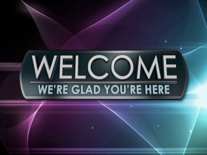 LIGHT WAVE WELCOME ANIMATED