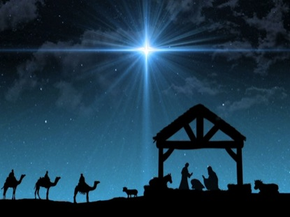 gallery for nativity scene background
