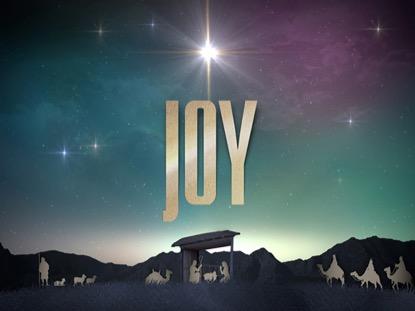 NATIVITY CHRISTMAS JOY