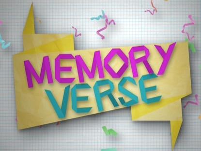PAPER JAM MEMORY VERSE