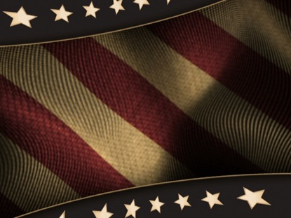 PATRIOTIC BACKGROUND 1 VINTAGE COLOR