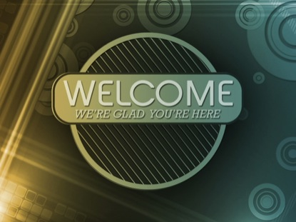 RETRO CIRCLES WELCOME