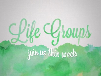 SPRING WATERCOLOR LIFE GROUPS