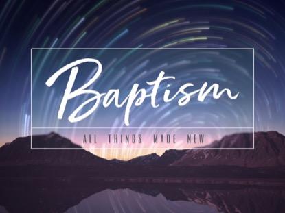 STAR TRAILS BAPTISM