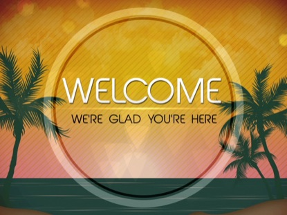 SUMMER WELCOME STATIC