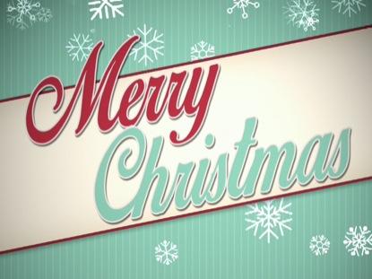 VINTAGE CHRISTMAS MERRY CHRISTMAS