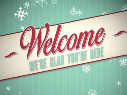 VINTAGE CHRISTMAS WELCOME
