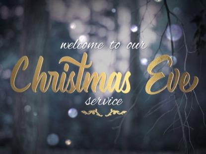 WINTER BOKEH CHRISTMAS EVE
