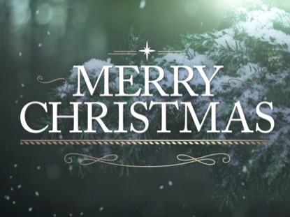 WINTER WOODS MERRY CHRISTMAS