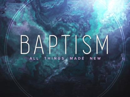 WONDER BAPTISM