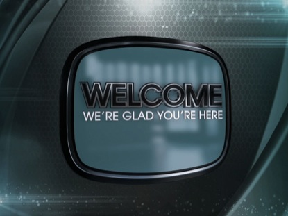 WORSHIP BACKGROUND MODERN EDGE WELCOME ANIMATED