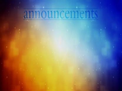 CELESTIAL ANNOUNCEMENTS MOTION 01