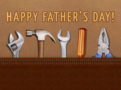 HAPPY FATHERS DAY TOOLS