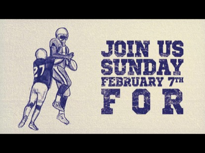 SUPER SUNDAY 2016 INVITE