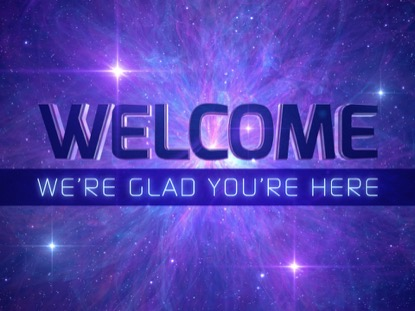 AWESOME GALAXY WELCOME