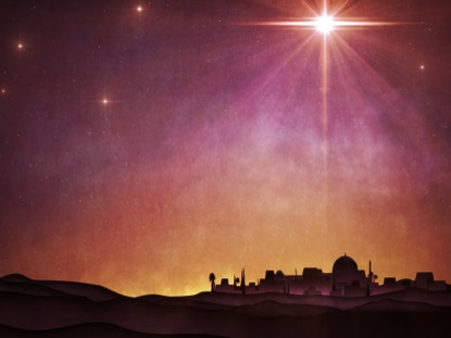BETHLEHEM STAR NIGHT SKY