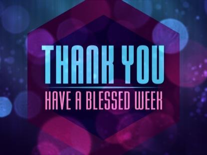 BOKEH AVALANCHE THANKYOU