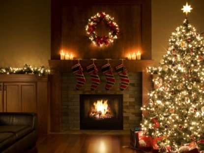 Christmas Fireplace Pictures Images Pictures Becuo