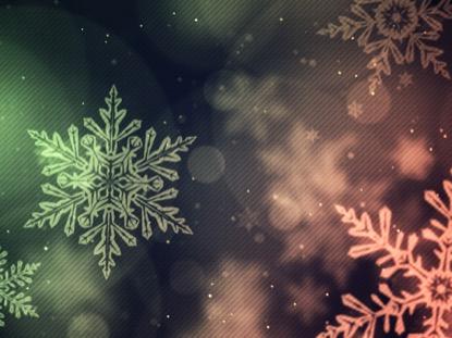 CHRISTMAS GLOW SNOWFLAKES FAST