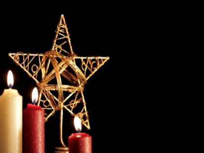 CHRISTMAS STAR CANDLES