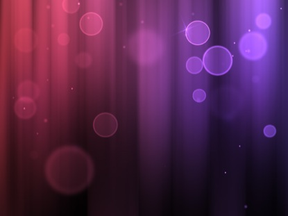 COLOR BUBBLES PURPLE RED