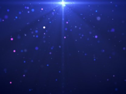 COLORFUL STARS AND PARTICLES