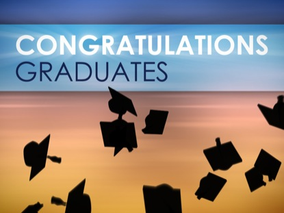 CONGRATULATIONS GRADUATES LOOP