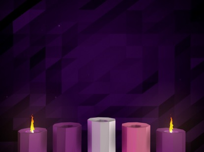 DIGITAL ADVENT CANDLES WEEK 2