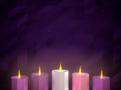 advent candles beautiful worship - photo #3