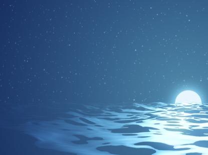 DIGITAL WAVES OCEAN NIGHT