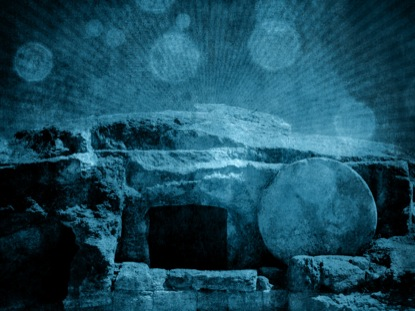 EMPTY TOMB GRUNGE BLUE