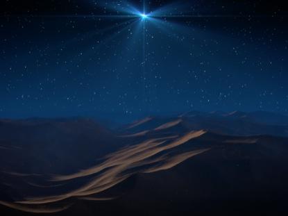 FOLLOW CHRISTMAS STAR SLOW