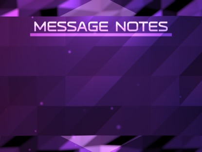FRACTAL FLOOD MESSAGE NOTES
