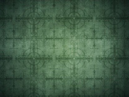 GREEN CROSSES PATTERN
