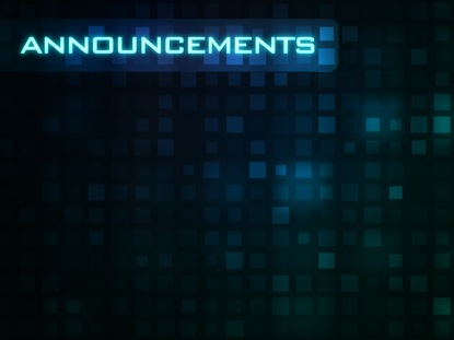 GRID ABSTRACT ANNOUNCEMENTS