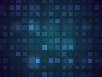 GRID ABSTRACT FALLING BLUE