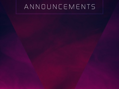 HAZER ANNOUNCEMENTS