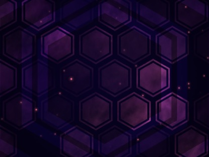 HEXA FOG PURPLE GRID