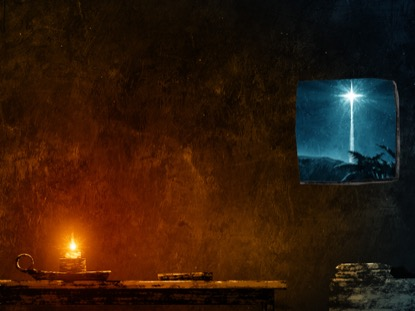 HOLY NIGHT CANDLE WINDOW