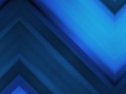 MIRRORED BLUE CHEVRON