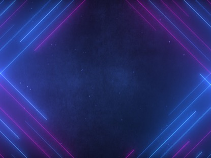 NEON LINES ANGLED BLUE PINK