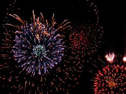 NIGHT FIREWORKS DISPLAY