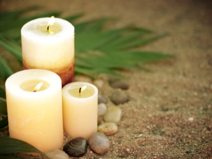 PALM SAND CANDLES