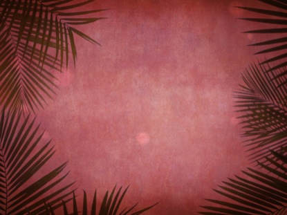 PALM SUNDAY GRUNGE RED