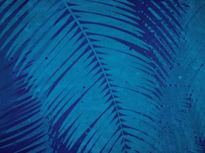 PALM SUNDAY WATERCOLORS BLUE FAST