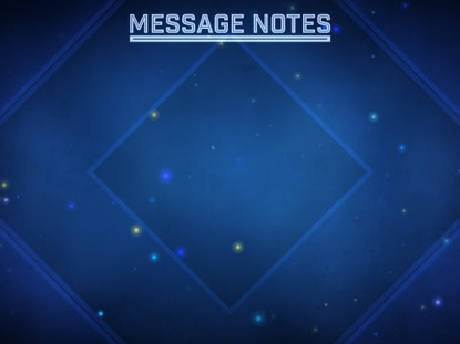 PARTICLE SPIN MESSAGE NOTES