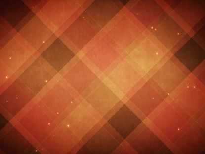 PLAID PATTERNS AUTUMN ORANGE
